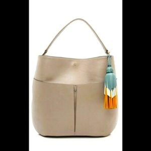 Anya Hindmarch Nevis Hobo Grey Bag